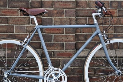My lovely grey #bicycle
