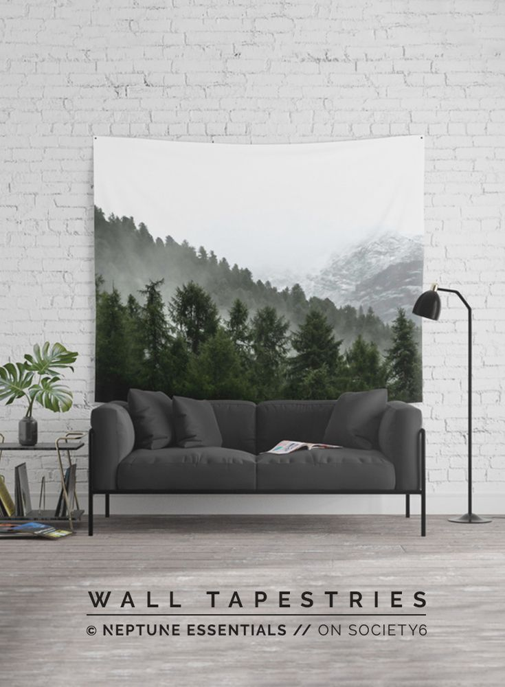 Call Of The Forest Wall Tapestry    Available in three distinct sizes, our Wall Tapestries are made of 100% lightweight polyester with hand-sewn finished edges. Featuring vivid colors and crisp lines, these highly unique and versatile tapestries are durable enough for both indoor and outdoor use. Machine washable for outdoor enthusiasts, with cold water on gentle cycle using mild detergent - tumble dry with low heat.