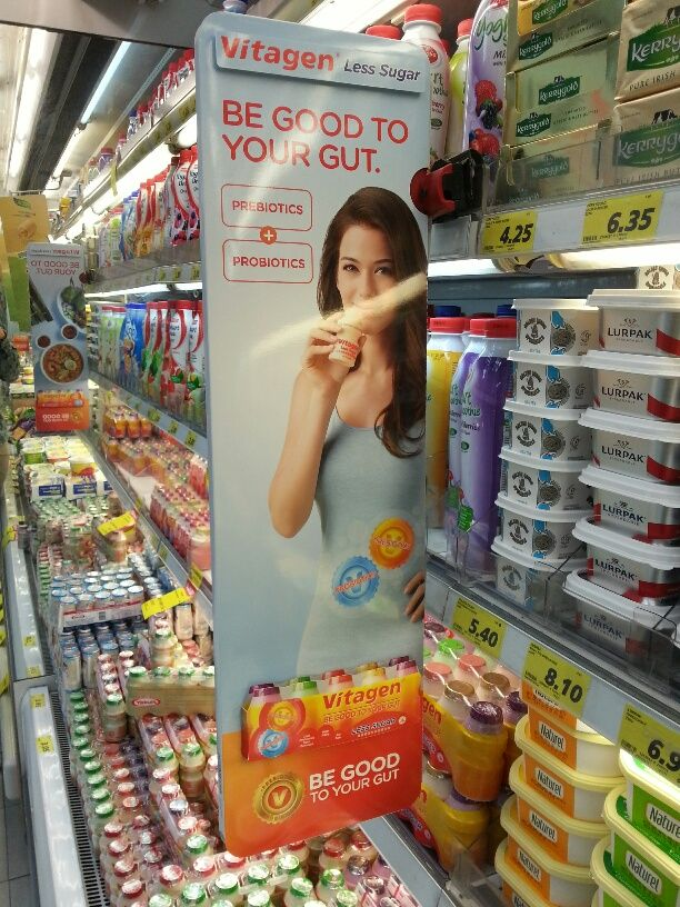 Vitagen Be Good To Your Gut Shelf Banner