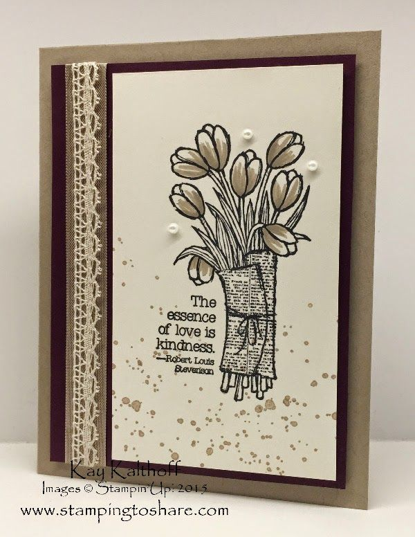 Stamping to Share: Elegant Card to Share with the How To video
