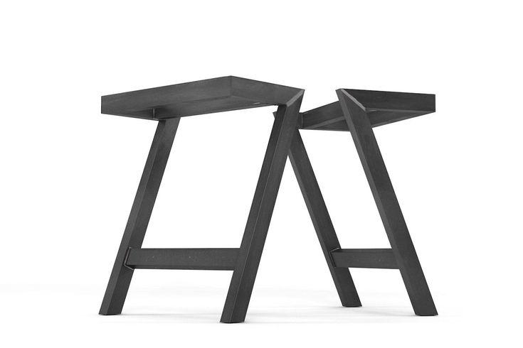 51 besten tischgestelle tischbeine aus stahl und holz. Black Bedroom Furniture Sets. Home Design Ideas