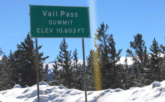 Vail Mountain Ski Pass | Vail Pass Colorado: Rocky Mountain Photos Near Vail, CO