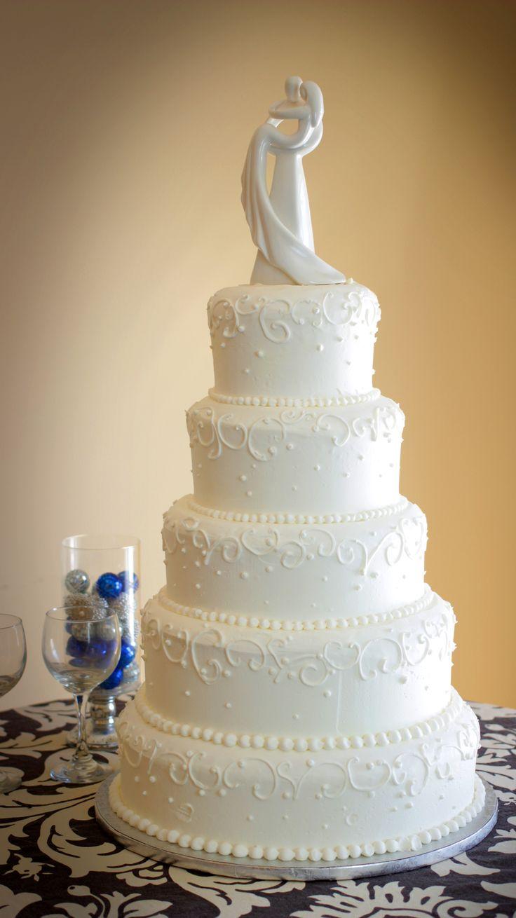 Elegant 5 tier wedding cake  Wedding Cakes  Pinterest  Tier wedding cakes Wedding cake and