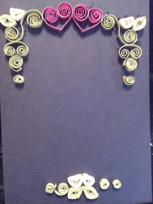 Quilling frame