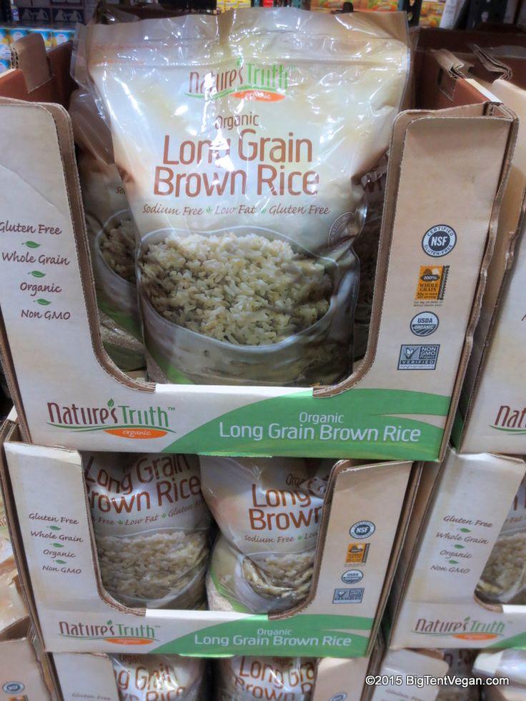 Organic Long Grain Brown Rice By Nature S Truth Vegan At