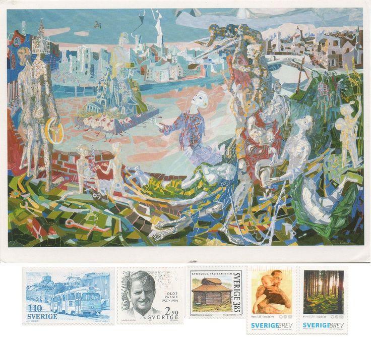 SE-138578 - Arrived: 2017.09.27   ---   The Last Shots by Arne Ekeland (1940) Oil painting