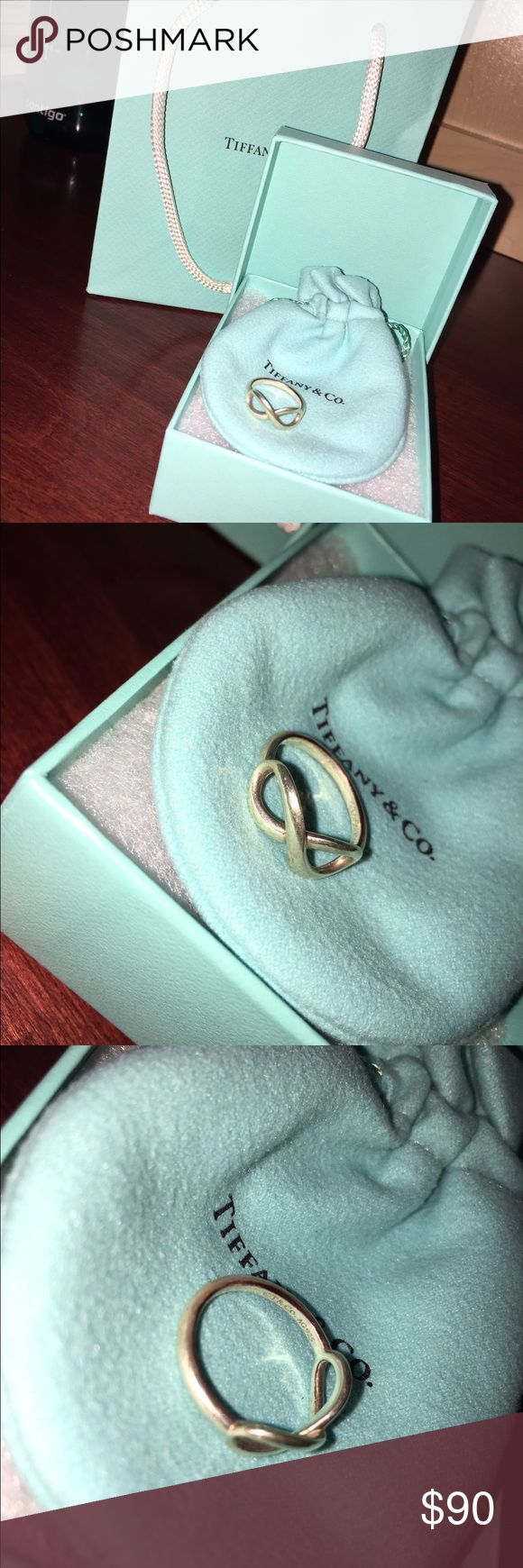 Tiffany and company infinite ring I'm excellent shape!! Tiffany & Co. Jewelry Rings