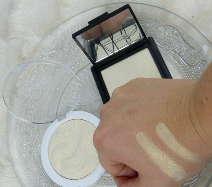 Swatches Nars Albatros Dupe Mua Highlighter Iredescent