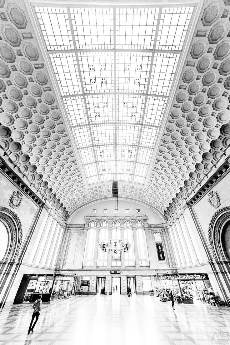 Leipzig central station by Michael Barg / 500px
