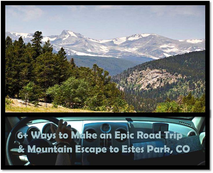 6+ Ways to Make an Epic Road Trip & Mountain Escape this Spring Break to Estes Park, Colorado!
