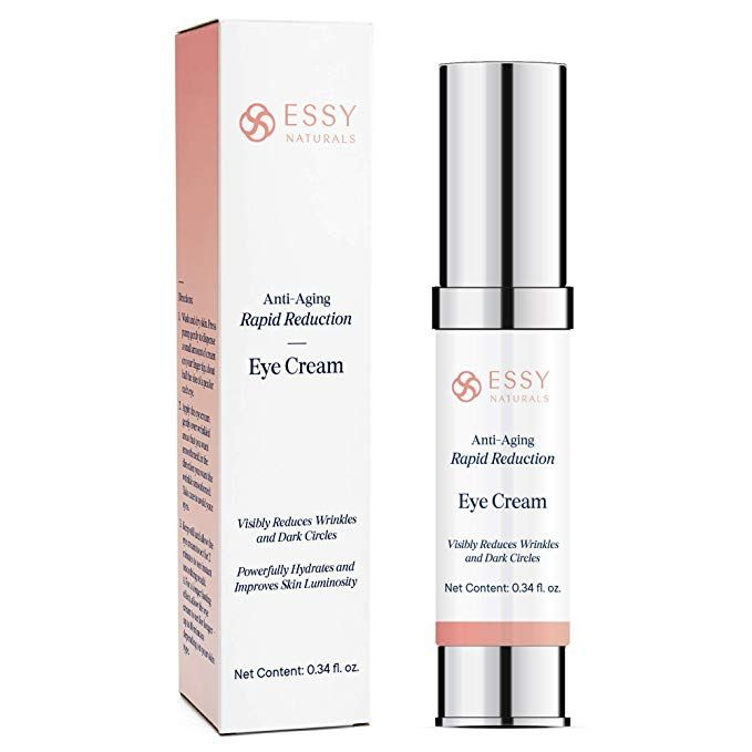 Amazon Com Essynaturals Anti Aging Rapid Reduction Eye Cream Visibly And Instantly Reduces Wrinkles Under Eye Bags Under Eye Bags Eye Cream Reduce Wrinkles