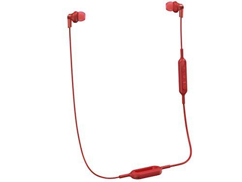 Panasonic Wireless Bluetooth In-Ear Headphones with Sound Mic Controller and Quick Charge Function Red (RP-HJE120B-R)  List Price: $39.99  Deal Price: $33.91  You Save: $6.08 (15%)  Panasonic Wireless Bluetooth In-Ear Headphones with Sound Mic Controller and Quick Charge Function Red (RP-HJE120B-R)  Expires Sep 3 2017