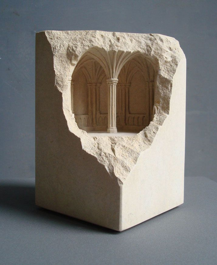 Matthew Simmonds, arquitectura sobre mármol.
