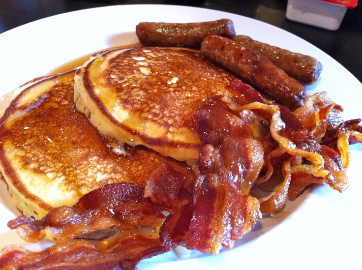 American breakfast ;-) | food | Pinterest | Bacon, I love ...