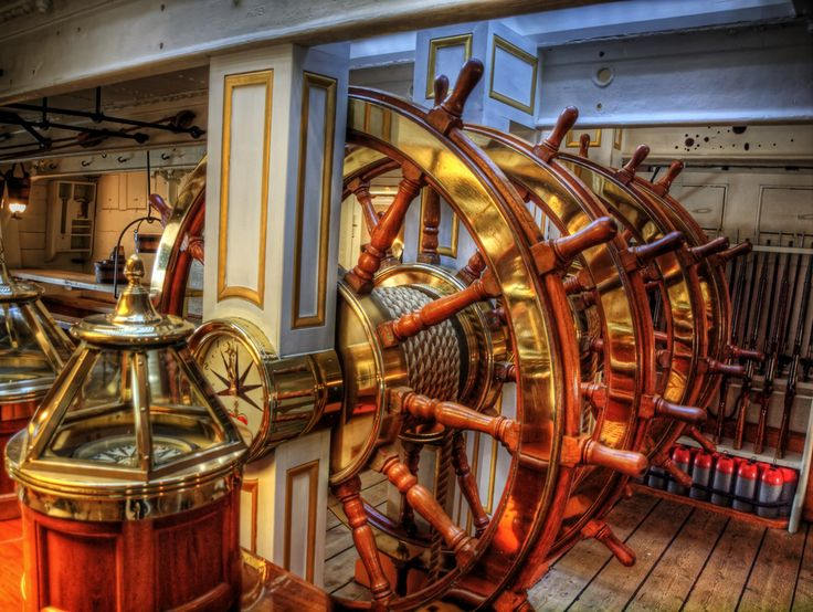 The Helm of the HMS Warrior | by neilalderney123