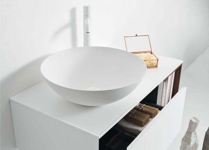 Falper Ciotola y sus tres 3 formas diferentes de ver un lavabo.... Rectangular, oval...+Info