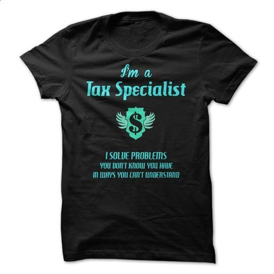 Tax Specialist fun - #printed shirts #cool t shirts for men. MORE INFO => https://www.sunfrog.com/LifeStyle/Tax-Specialist-fun.html?60505