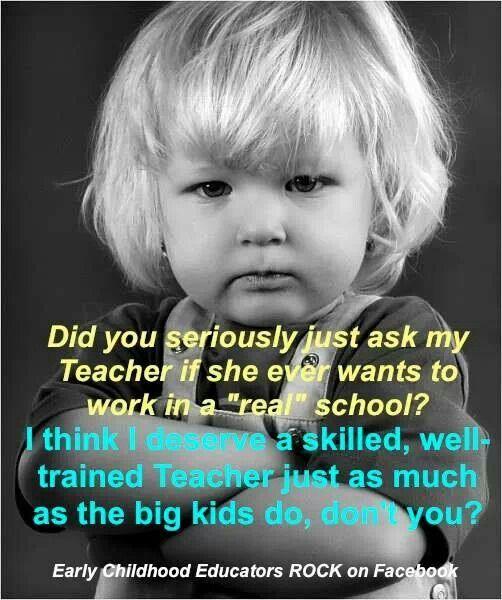 Preschool teachers | Preschool teacher, Teacher jokes ... |Early Childhood Education Humor