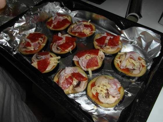 Lilkové pizzy - Paleo