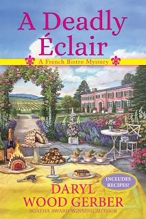 Mystery Lovers' Kitchen: Luscious easy French custard #recipe + #giveaway from author @DarylWoodGerber