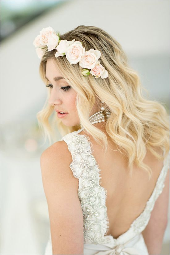 Bridal Hairstyle With Rose : 75 best images about my work:ramsaymarstonhair.com on pinterest