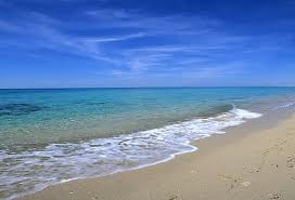 Metaponto, the beach Basilicata region (Italy)
