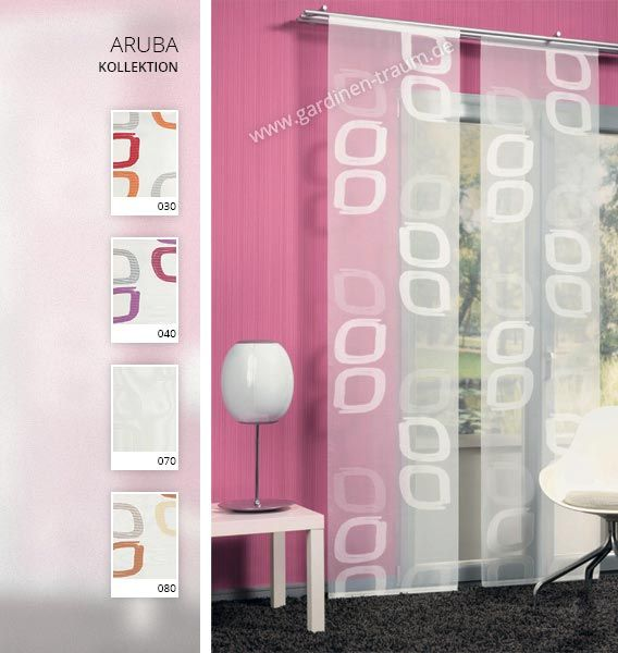 ARUBA 825801 Schiebevorhang N (A014)