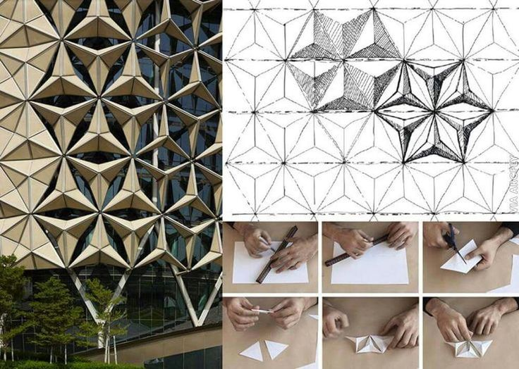 Paper folding and architecture