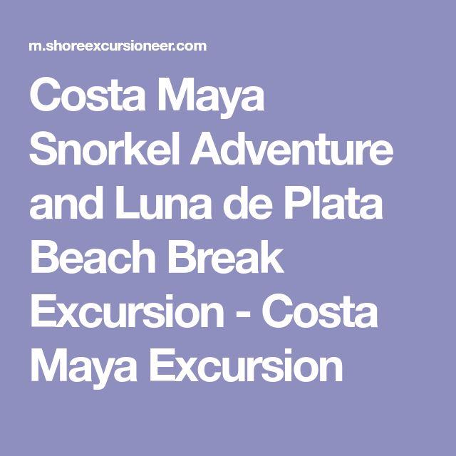 Costa Maya Snorkel Adventure and Luna de Plata Beach Break Excursion - Costa Maya Excursion