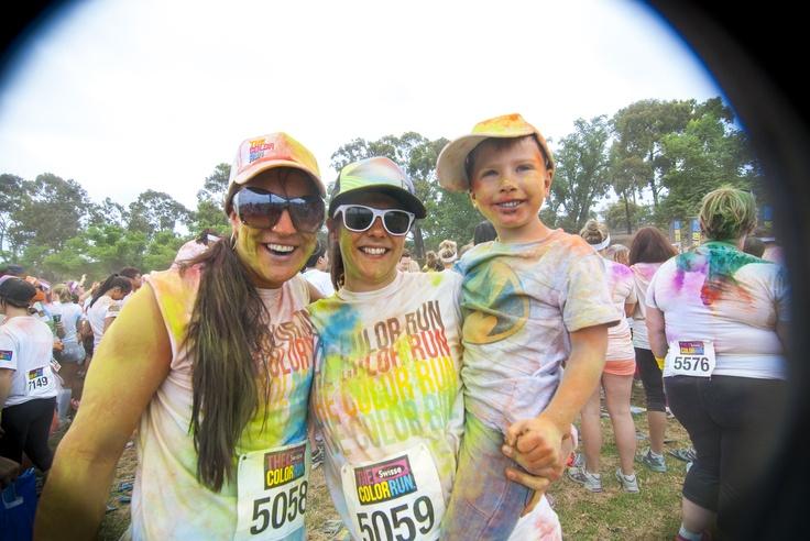 Color Run cuties!