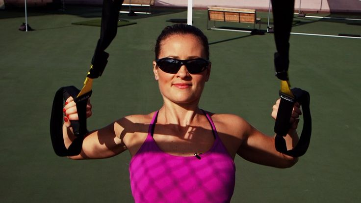 Thank TRX For Your Sexy Arms (After Doing These Exercises!): If you're looking for a buff upper body, you need to try TRX.