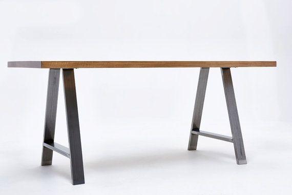 Gambe tavolo pranzo 'A' piedistalli in di WickedHairpinsUK