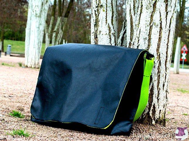 Nähanleitung – Messenger Bag / Umhängetasche › Anleitungen, Do it yourself › DIY, Freebook, nähen, Tasche