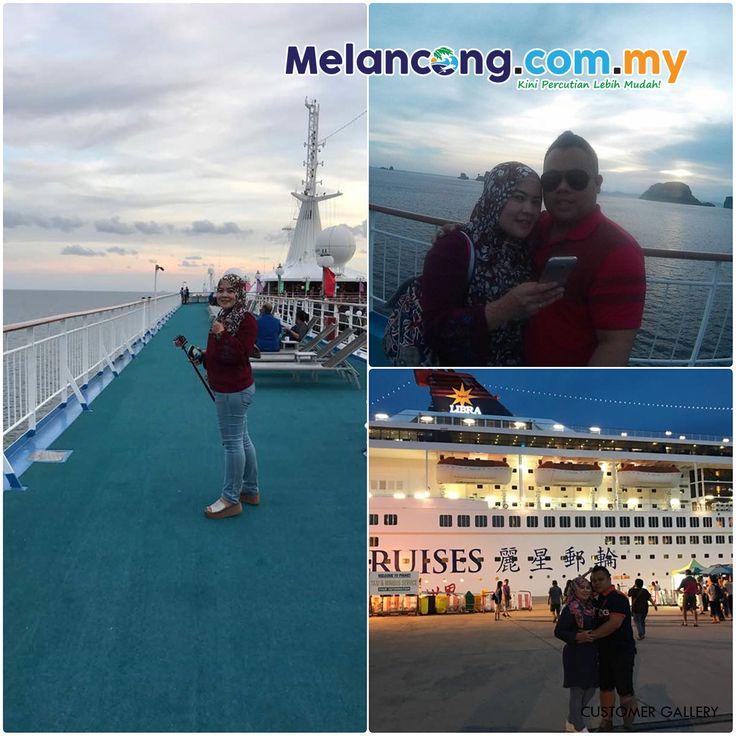 Lovely Couple On The Cruise 🛳️ Cik Norazilah dan suami bercuti romantika 💑di atas kapal pelayaran Star Cruise Superstar Libra