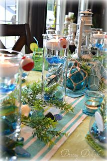 Dining Delight: Fishing Tablescape for Father's Day