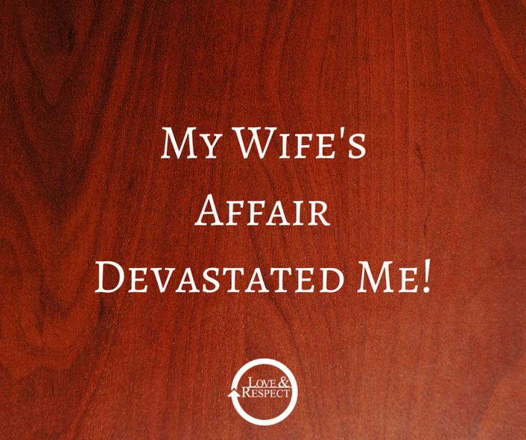 Affair advice..... same is true if your hubby has cheated.