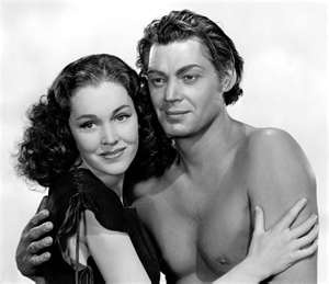 Who could forget Tarzan and Jane?  What a great couple!!! LOL