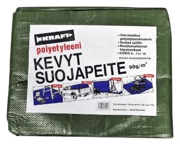 KRAFT Suojapeite 3x5 m Vihreä - TokNet.fi -verkkokauppa