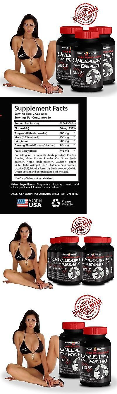 Body Fat Analyzers: Maximum Delay - Mens Health - Unleash Your Beast Enhancement Size Up 3 Bottle BUY IT NOW ONLY: $32.95