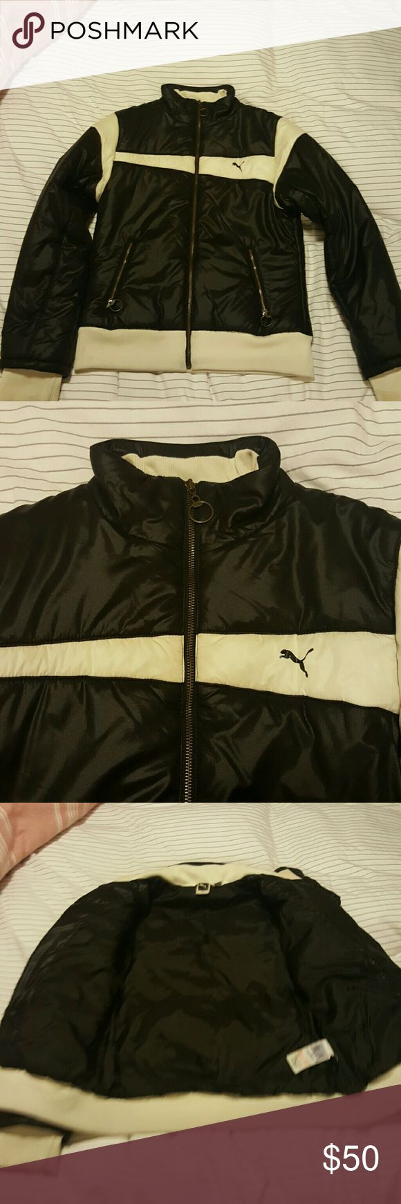 Vintage Puma jacket Super cool original Puma jacket. In good condition, no flaws. Has some filling to keep you warm, and is made of nylon. Fitted jacket Puma Jackets & Coats Puffers