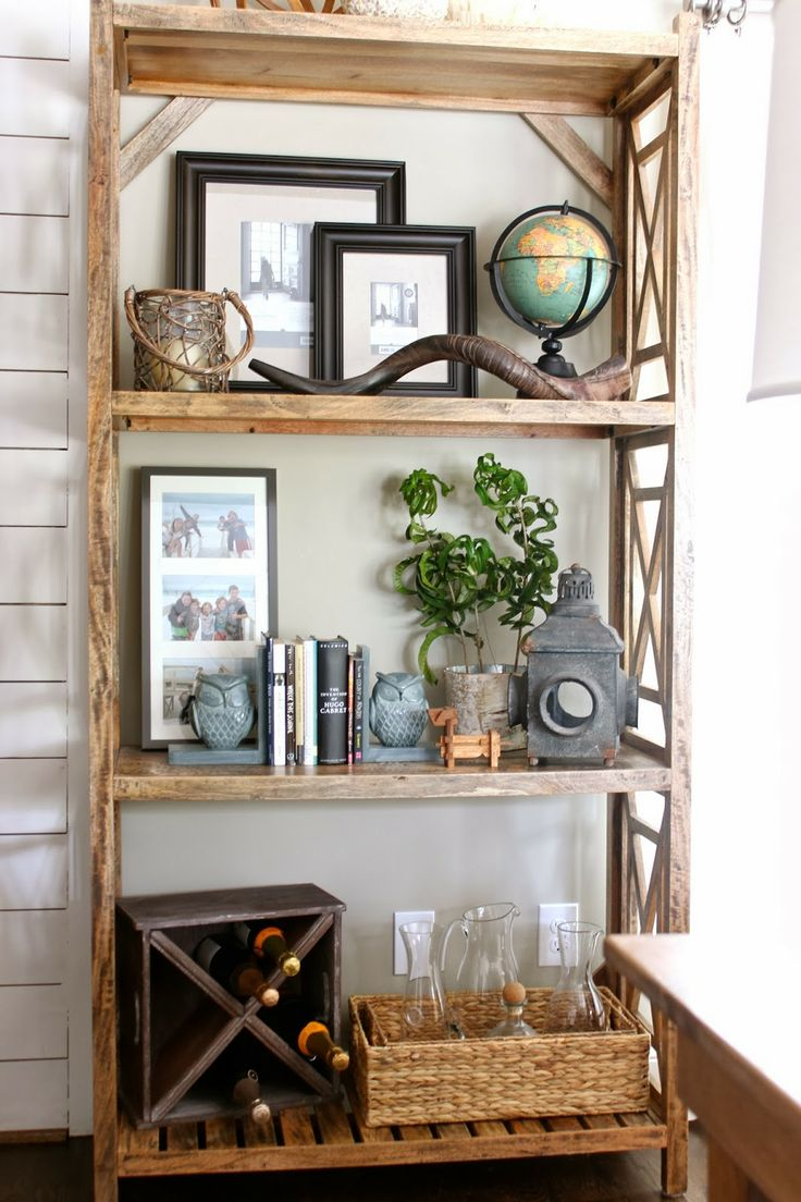 Living Room With Bookshelf: 101 Best Images About Entryway, Shelf Styling On Pinterest