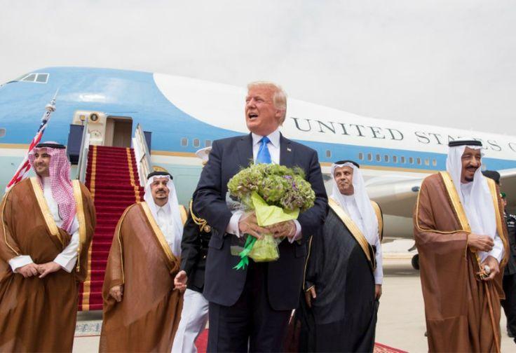 Usai Kunjungi Arab Saudi, Trump Berharap Segera ke  Mesir