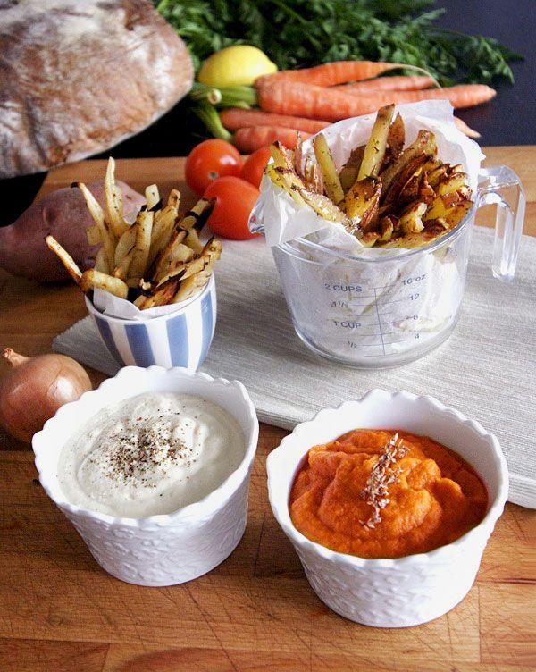 V troubě pečené hranolky | Veganotic