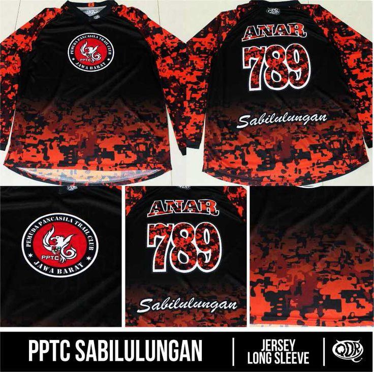 Motocross jersey PPTC Sabilulungan Sublimation print