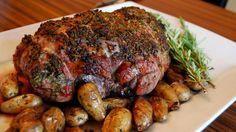 Macedonian Roasted Lamb with Potatoes