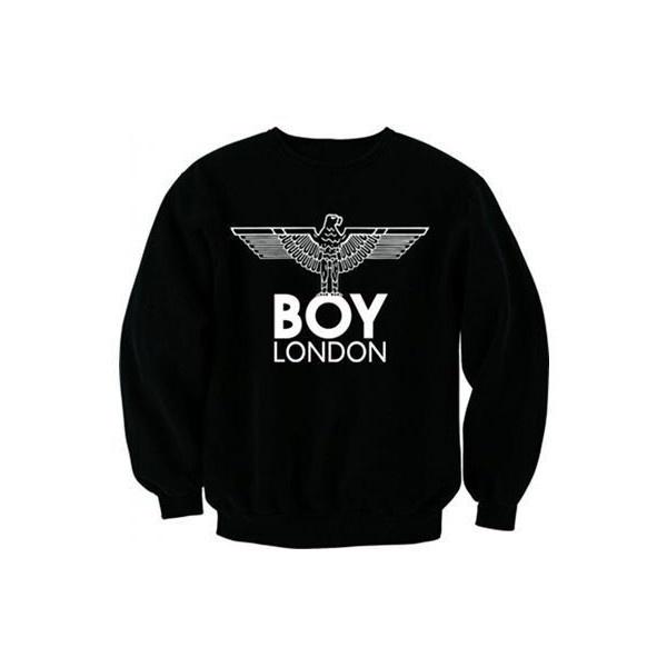 Rihana Jessie J Boy London Eagle Jumper Sweatshirt Top Must Have New... ❤ liked on Polyvore