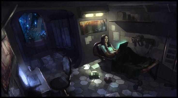 Cabin By Sanchiko On Deviantart Sci Fi Insp Stadt Raum