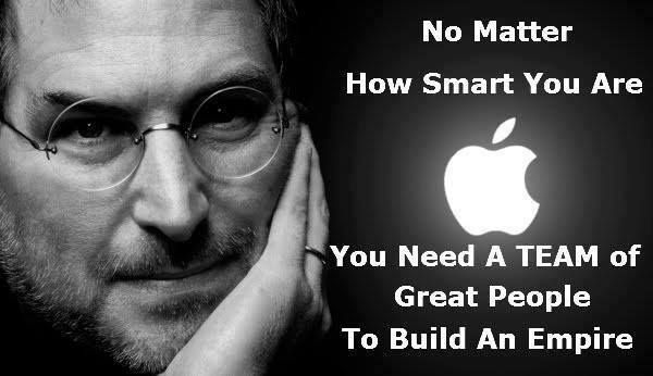 """""""If you are working on something exciting that you really care about, you don't have to be pushed. The vision pulls you."""" ~ Steve Jobs  http://www.Jikly.biz"""