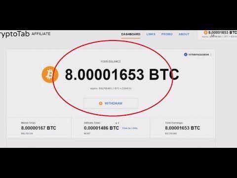 FREE BITCOINS Cryptotab Hack Script - 8 BTC 2019