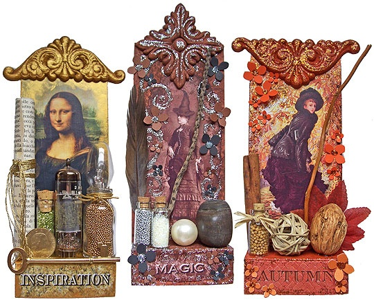 Altered altars. like the concept-the witch has to go.